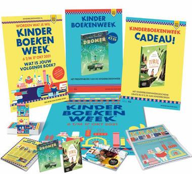Lespakket kinderboekenweek 2021 leverbaar september 2021