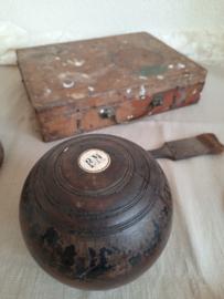 Britse lawn bowl bal