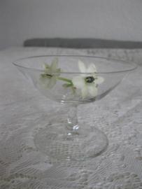 Setje van 4 Zweedse cocktail of likeur glaasjes   G119