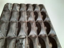 Amsterdamse chocoladereep vormplaat