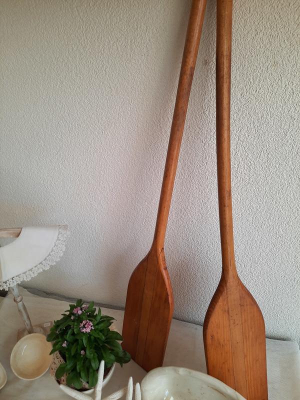 Houten peddels