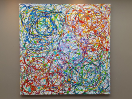 Circle of Life - 160 x 160 x 4,5