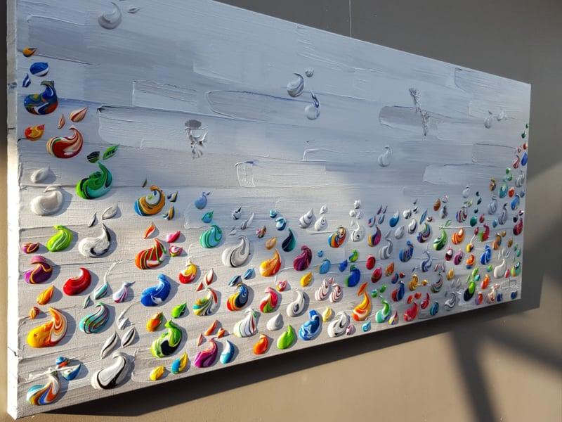 Cinque Terre - 180 x 80 x 4,5 - gereserveerd