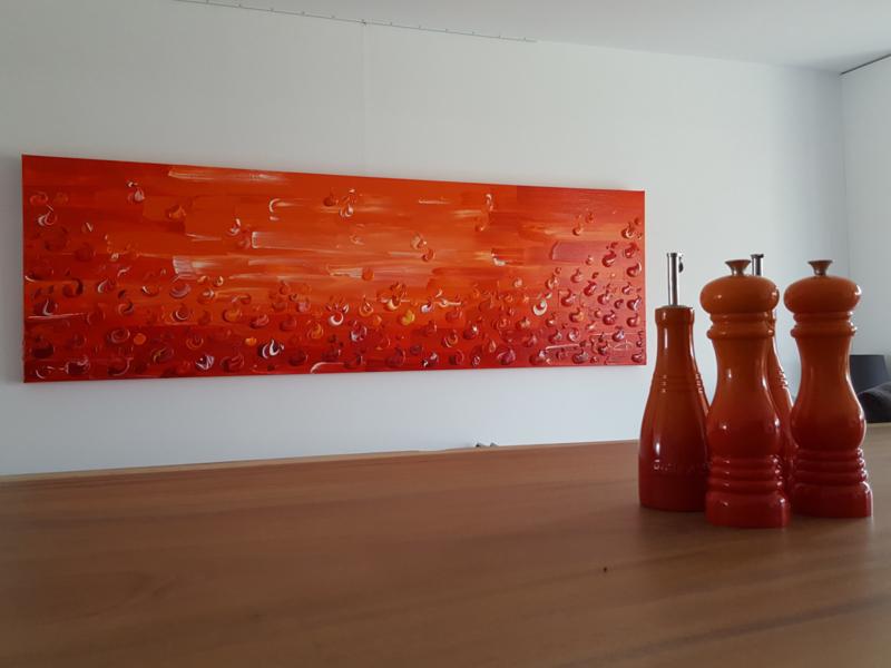 Fuego - 260 x 80 x 4,5 cm