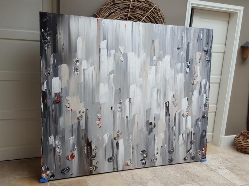 Imola / 50 shades of grey - 220 x 180 x 4,5
