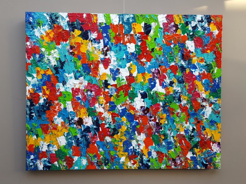 Popart - 125 x 100 x 4,5