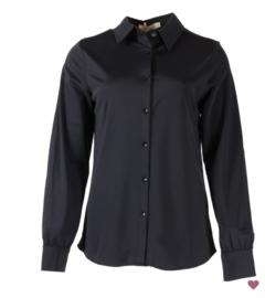 Travel Blouse zwart | Azzurro