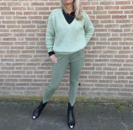 Sweater met v-Hals Azzuro