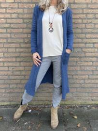 Vest style blauw