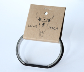 Love Ibiza haarelastiek armband