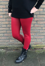 Norfy Leatherlook Legging Rood