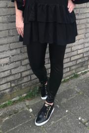 Glans legging zwart