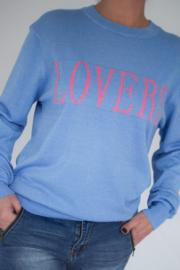 Trui lovers bleu Ambika