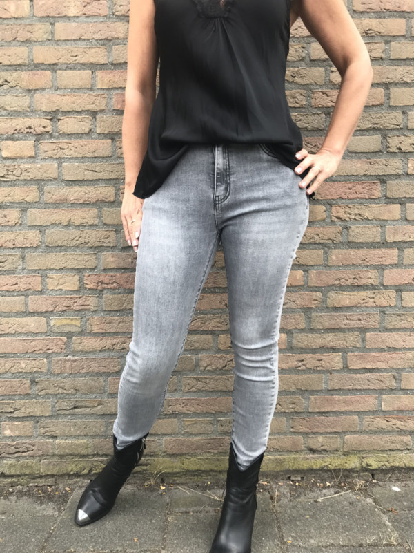 Norfy Jeans Grey jog jeans