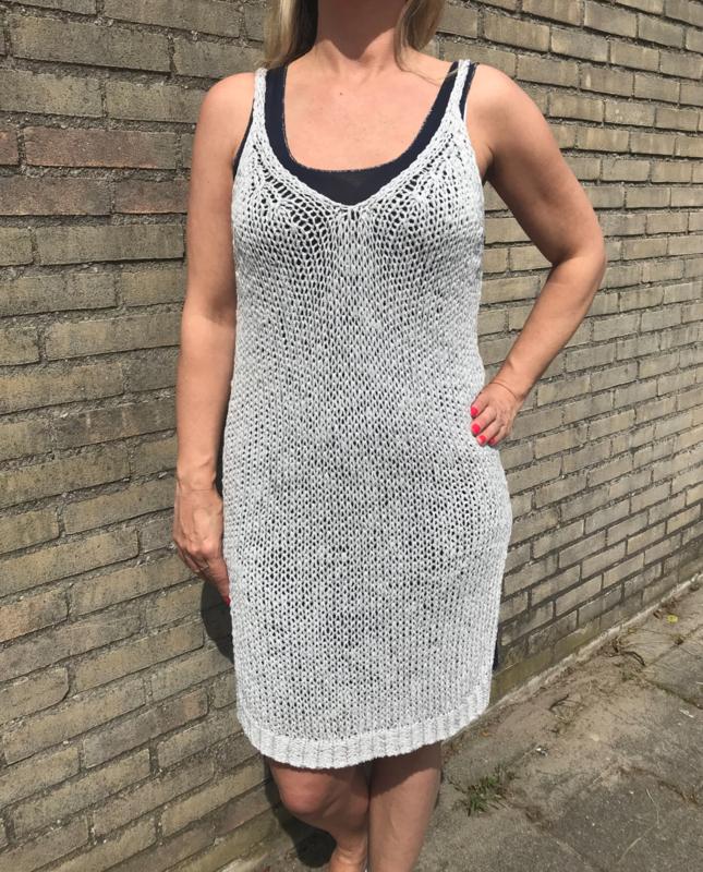 Beach dress grijs