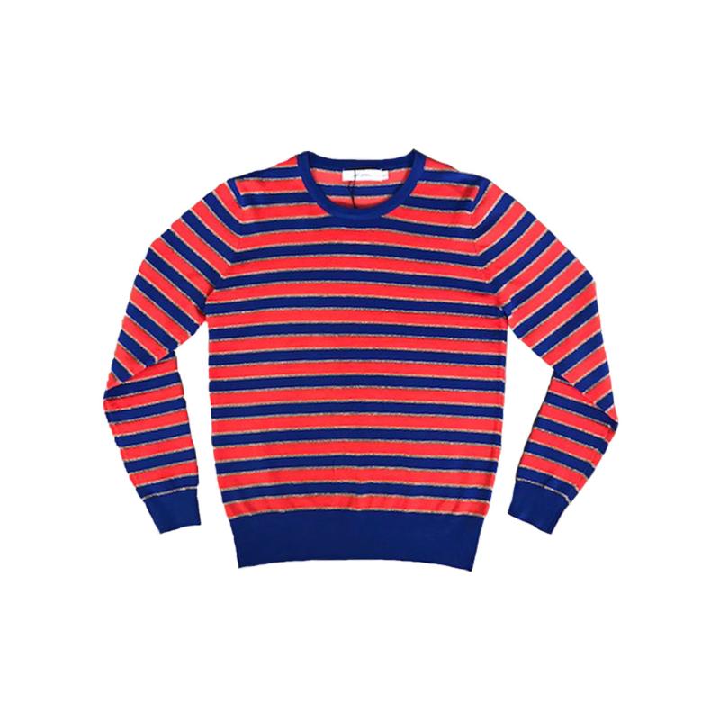 Trui strepen blauw oranje Ambika | SALE | YESS STYLE fashion