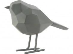 Statue bird jungle green S