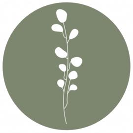 Leaves groen,  90cm
