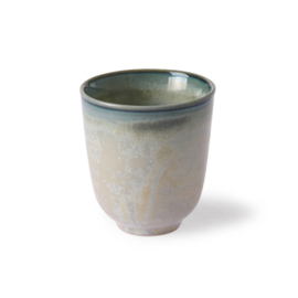 home chef ceramics: mug grey/green