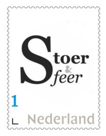 Postzegel 1