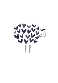 Schaap met blauwe hartjes (23)