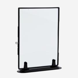 Phote frame on stand black L