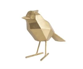 Statue bird gold L