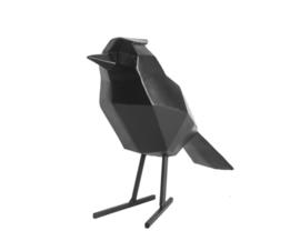 Statue bird black L