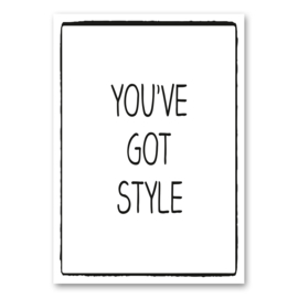 You've got style A6
