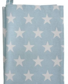 Teatowel, blue star