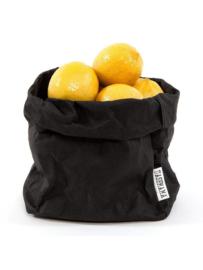 Paper bag zwart small