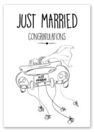 Just married...