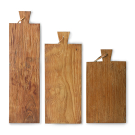 Broodplank gerecycled teak M