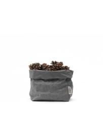 Paper bag donker grijs small