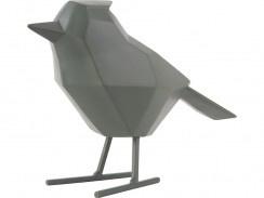 Statue bird jungle green L