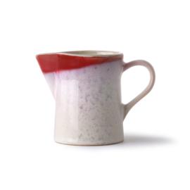 milk jug & sugar pot: frost
