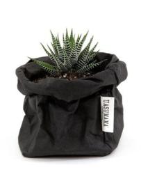 Paper bag zwart piccolo