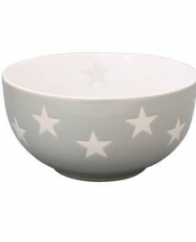 Bowl, light grey