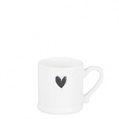 Espresso mug heart