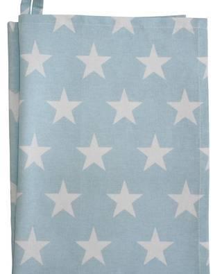 Teatowel, blue star