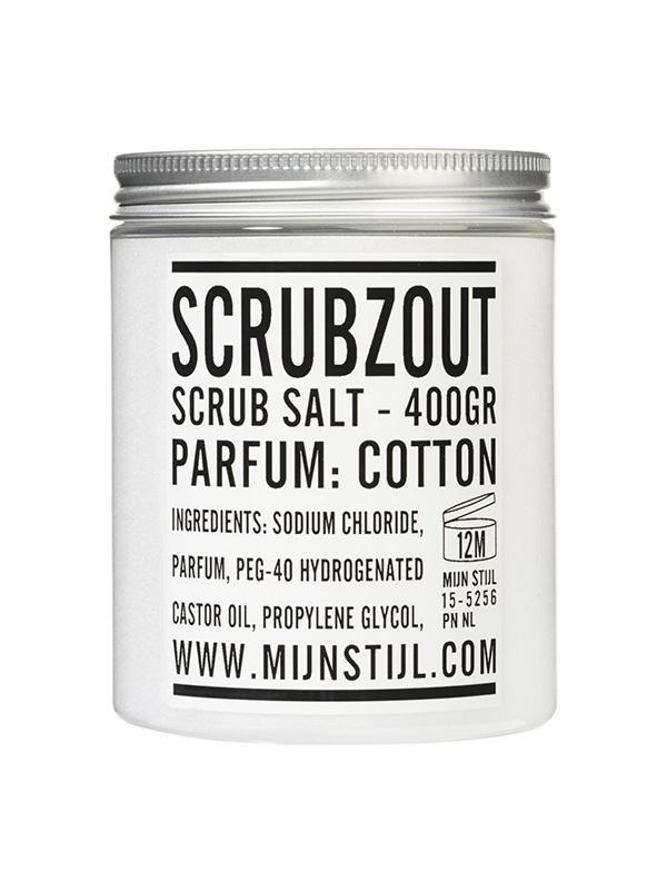 Scrubzout coton