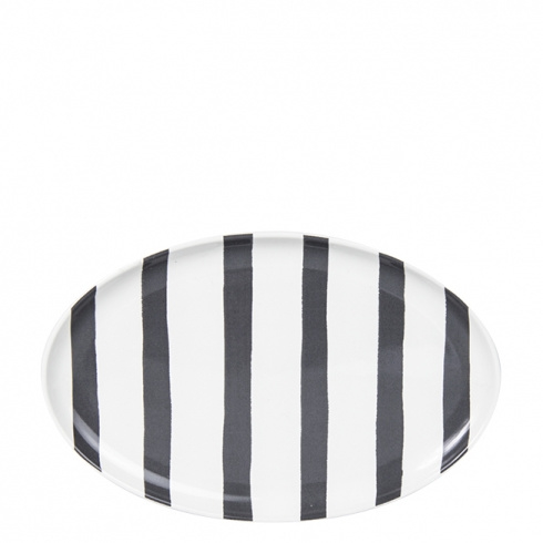 Plate black stripes