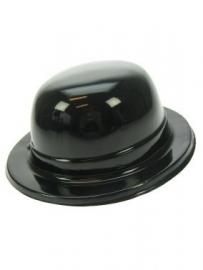 Bolhoed plastic zwart