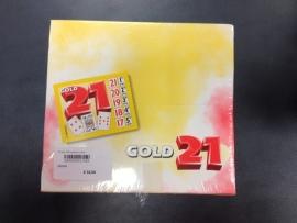 21 spel 1000 kaarten in doos (Gold 21)