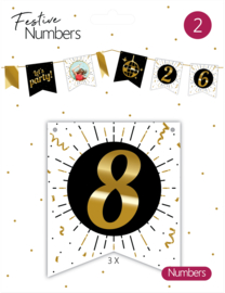 Festive Numbers 8 / 3st.