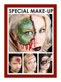 Boek Grimas face painting Halloween