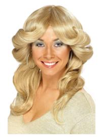 Pruik 70s Flick blond