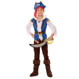 Piraat avontuurlijk 5-6 jaar (105-121cm)