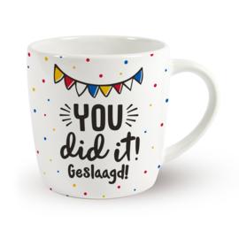 Mok geslaagd - You did it! Geslaagd!