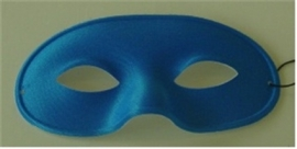 Domino adulto blauw
